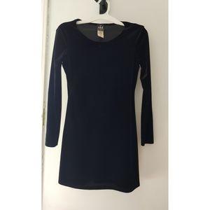 My Michelle little Black velvet dress